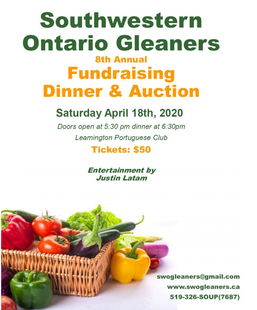 Gleaners-2020 Spring Fundraiser